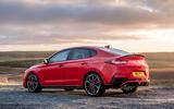 Hyundai i30 Fastback N 2019 UK first drive review - static rear