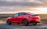 Hyundai i30 Fastback N 2019 UK first drive review - static rear