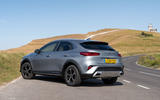 Kia Xceed plug-in hybrid 2020 UK first drive review - static rear