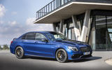 Mercedes-AMG C63 2018 first drive review static front