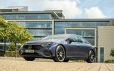 25 Mercedes Benz EQS 2021 UK LHD FD static