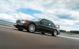 Mercedes E-Class - side