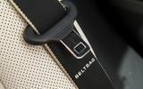 Mercedes-Benz S-Class S500L 2018 long-term review - seatbelts