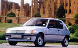 Peugeot 205 - static front