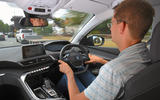 Peugeot 5008 2018 long-term review Jim Holder driving