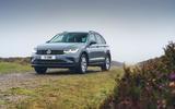 25 Volkswagen Tiguan 2021 UK FD static front