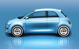 Fiat 500 render