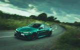 26 Alfa Romeo GTAm 2021 UK LHD fd cornering