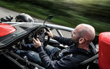 Ariel Atom 4 2018 first drive review Matt Prior driving rear
