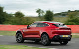 Aston Martin DBX 2020 UK first drive review - track rear