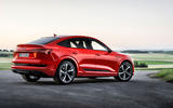 Audi E-tron S Sportback 2020 first drive review - static rear