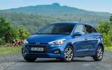 Hyundai i20 2018 review static front