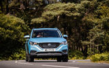 MG ZS EV 2019 UK first drive review - cornering