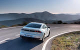 Peugeot 508 Hybrid4 2020 first drive review - cornering rear