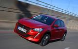 Peugeot e-208 2020 - hero front