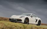 Porsche 718 Cayman GTS 2018 UK review static