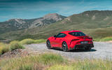 Toyota GR Supra 2019 first drive review - static rear