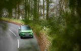 26 Vauxhall Mokka e 2021 UK first drive review trees