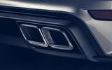 Porsche 911 Turbo S 2020 - exhausts