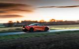 McLaren 720S - tracking side