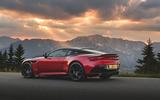 Aston Martin DBS Superleggera 2018 first drive review static rear