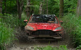 Aston Martin DBX 2020 UK first drive review - offroad front