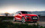 Audi A3 TFSIe 2020 UK first drive review - static
