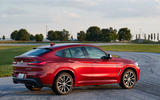 BMW X4 2018 first drive review static rear