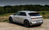 27 Hyundai Ioniq 5 2021 FD Norway plates static rear