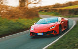 Lamborghini Huracán Spyder 2020 UK first drive review - on the road front