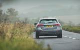 Mercedes-Benz A-Class 2018 long-term review - cornering rear