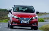 Nissan Leaf 2019 - hero front