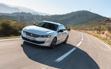 Peugeot 508 Hybrid4 2020 first drive review - on the road front