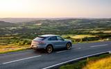 27 Porsche Cayenne Turbo GT 2021 UK FD panning rear