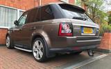 Range Rover Sport - static rear
