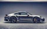 Porsche 911 Turbo S 2020 official images - side