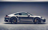 Porsche 911 Turbo S 2020 official images - side