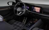 VW Golf GTD cabin