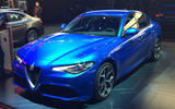 Alfa Romeo Giulia Veloce at the Paris motor show 2016 - show report and gallery