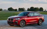 BMW X4 2018 first drive review static front