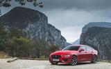 Jaguar XE P300 2019 first drive review - static