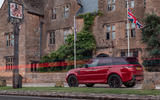 Land Rover Range Rover Sport HST 2019 UK first drive review - static rear