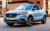 MG ZS EV 2019 UK first drive review - static front
