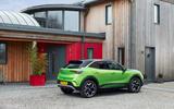 28 Vauxhall Mokka e 2021 UK first drive review static rear