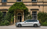 Volvo V60 D4 Inscription 2018 UK first drive review static side