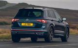 2021 Volkswagen Tiguan Elegance - rear cornering