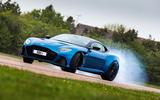 Aston Martin DBS Superleggera - tracking side
