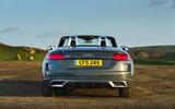 Audi TT Roadster 2019 UK first drive review - static back