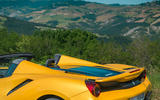 Ferrari 488 Pista Spider 2019 first drive review - roof down