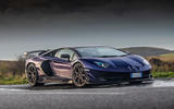 Lamborghini Aventador SVJ 2018 UK first drive review - static